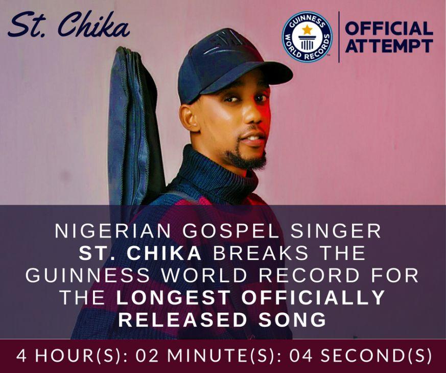 St. Chika Breaks World Record