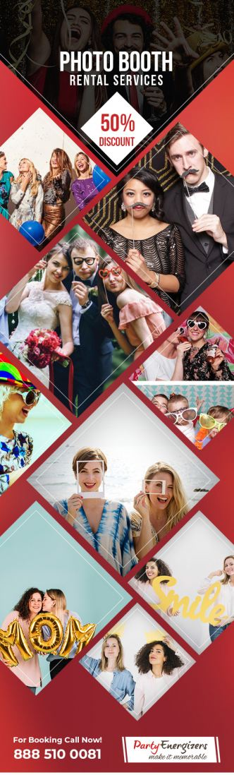 photo booth rental services by party energizers pi