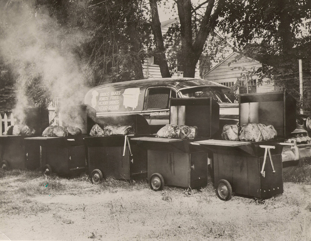 Hasty-Bake Charcoal Grills Archive Photo