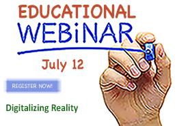 CIMdata webinar for July: Digitalizing Reality