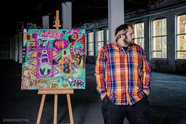 Artist Vito Bonanno