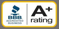 A+BetterBusinessBureau Rating