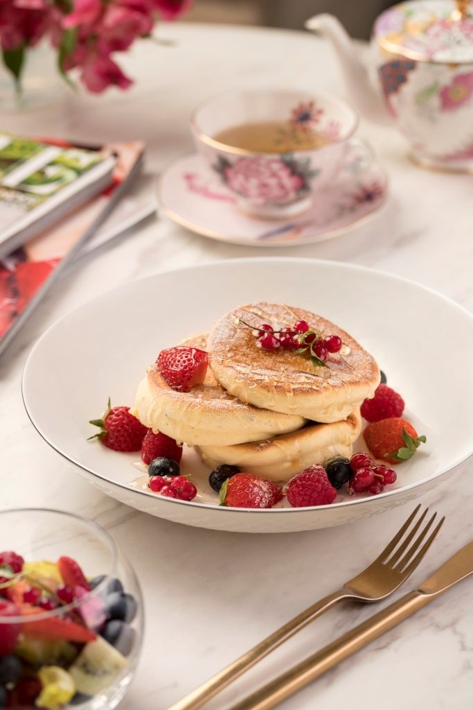 Souffle Pancakes at Cha Bei