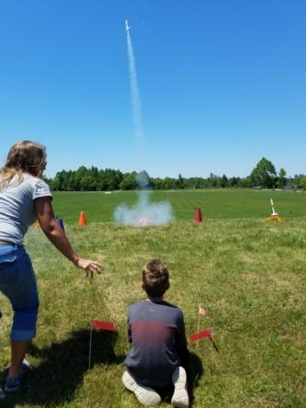 Launching in the Reach for the Stars ~ National Rocket Competition