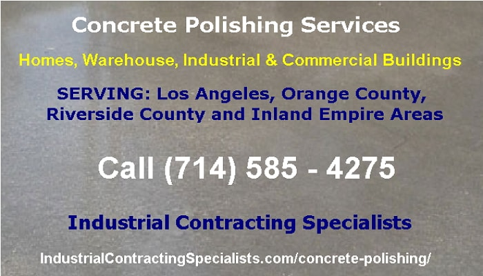 Los Angeles Concrete Polishing Services