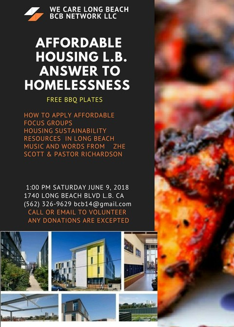 You are Invited to Housing Rally on June 9th, 2018 at 1pm