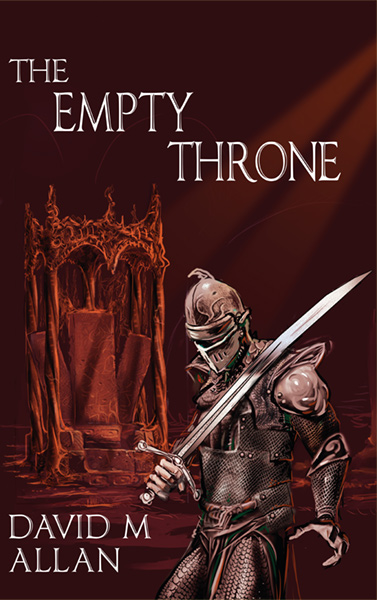 The Empty Throne by David M Allan; Artwork by Tony Allcock