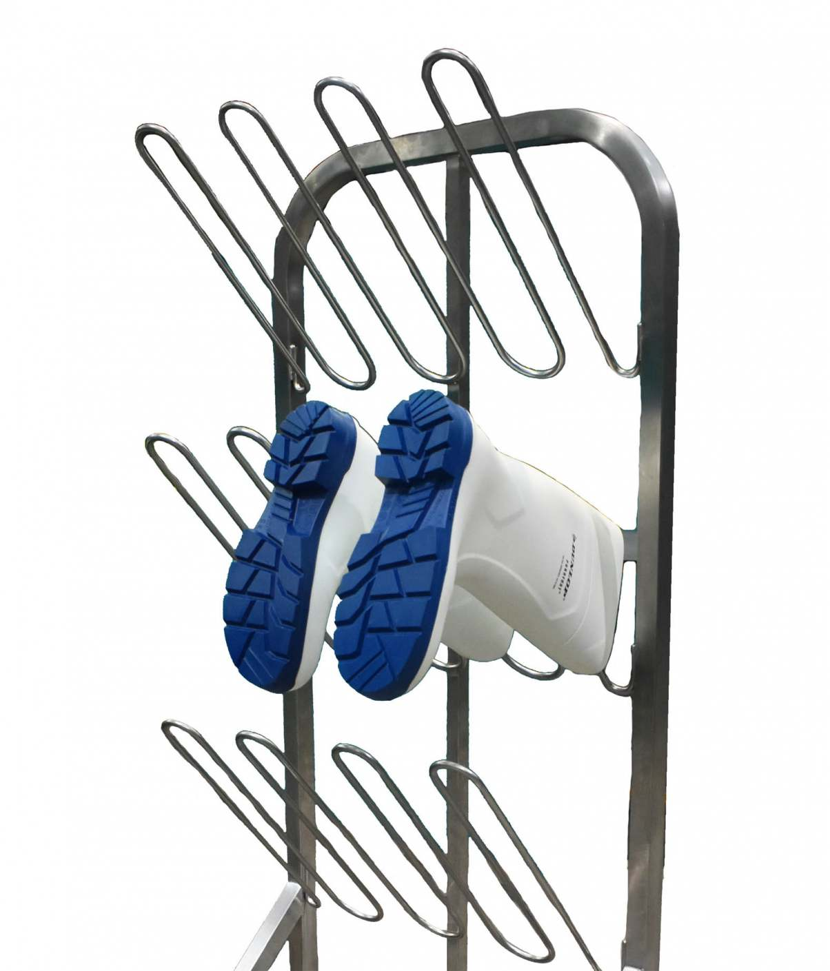 Our new hygienic boot rack