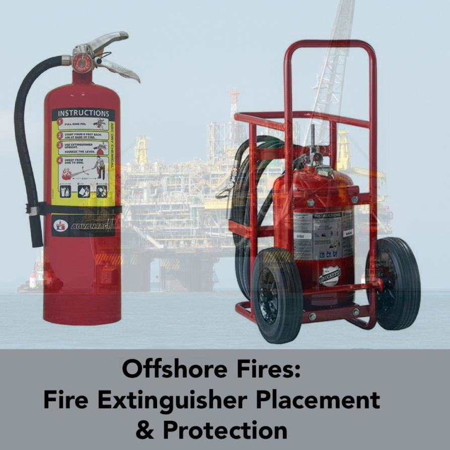 Offshore Fire Extinguisher Placement