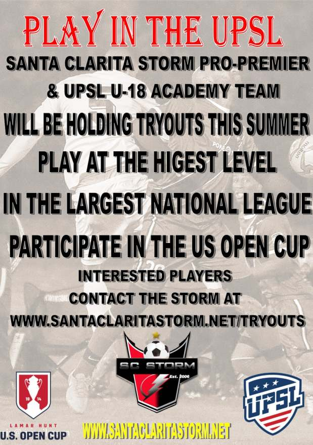 2018 PROPRMEIR AND U18 TRYOUT AD