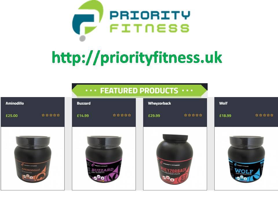 priorityfitness.uk - supplements online UK