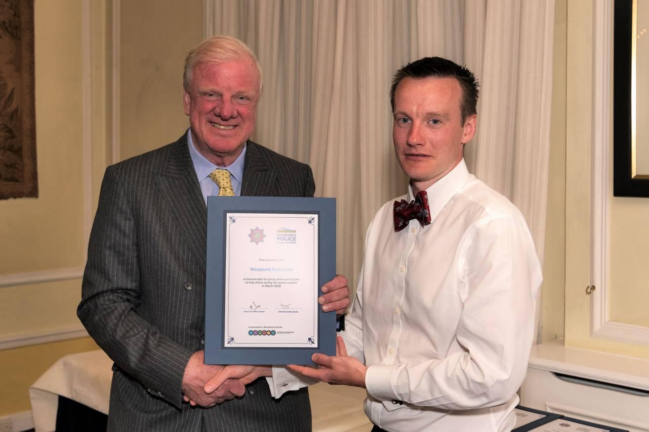 Peter-Moore-receiving-Snow-Hero-award