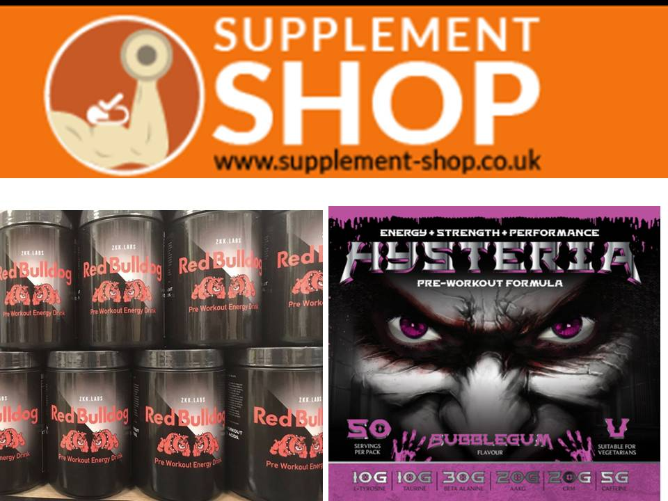 supplement-shop.co.uk - Pre Workout Supplements