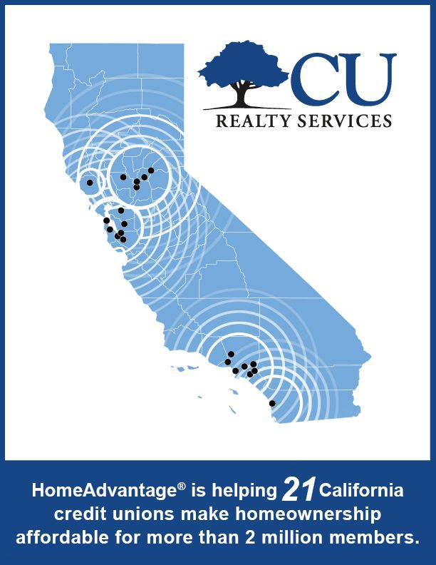 Mission FCU is the 21st CU in CA to Implement HomeAdvantage from CU Realty Svcs.