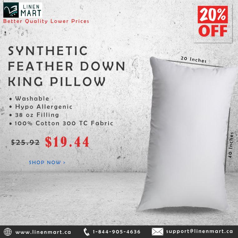 Luxury King Size Pillow Sale