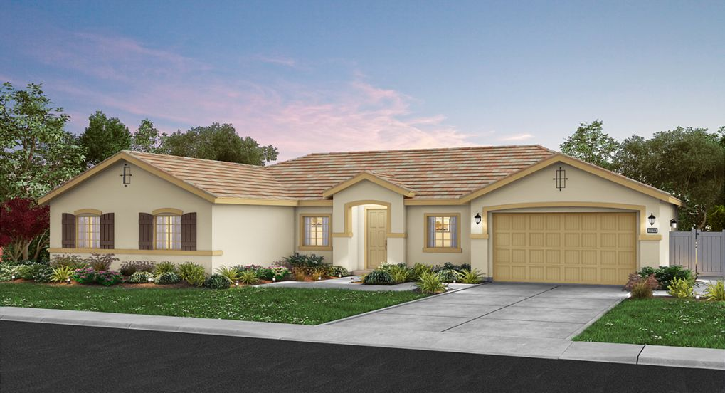 New, spacious single-story homes for sale in Plumas Lake at Sonoma Ranch!