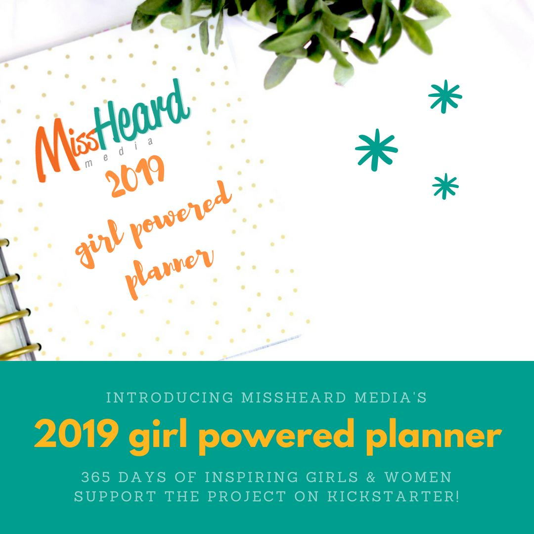 Girl Powered Planner Mock Up