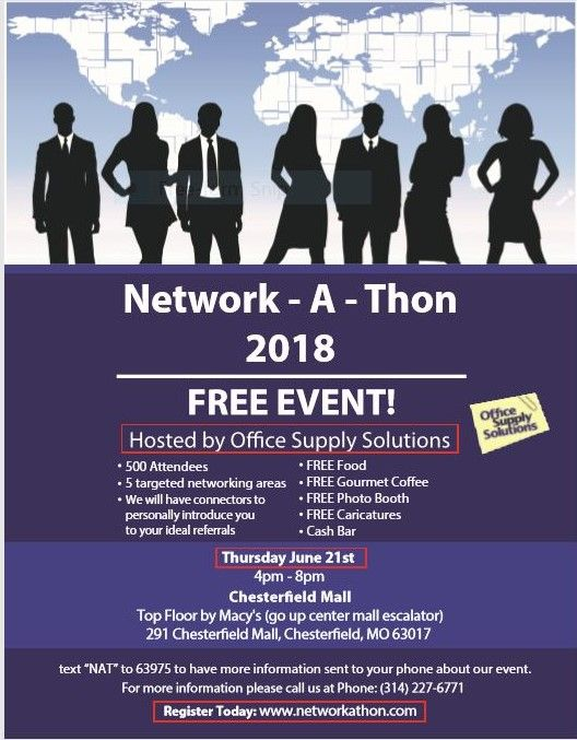 Network-A-Thon in St. Louis June 21