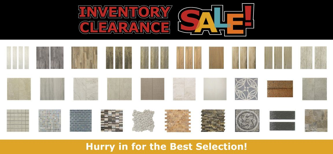 Tile Outlets Inventory Clearance Sale Offers Great Savings