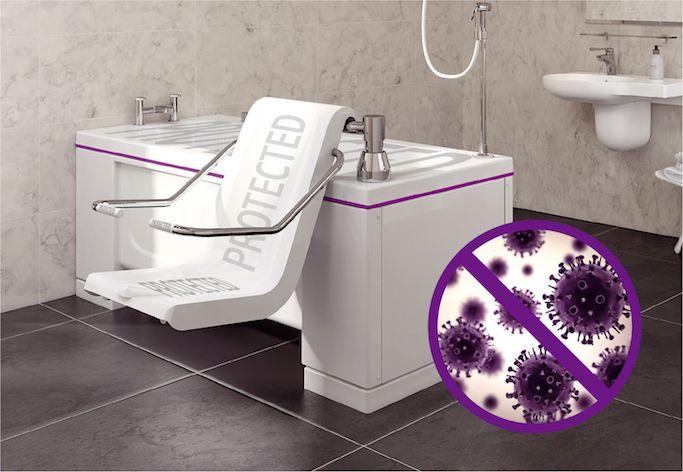 Gainsborough Gentona bath with unique antimicrobial protection