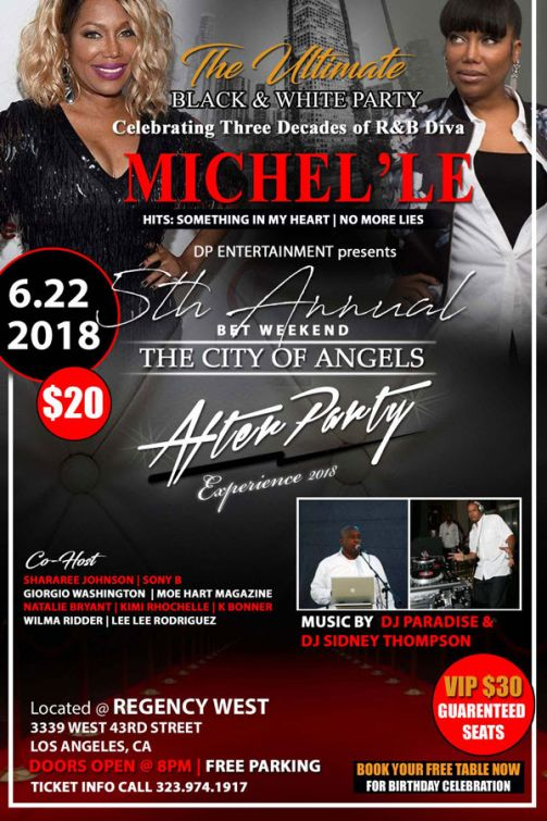 Mitchel'le, BET X, BET Experience, Los Angeles