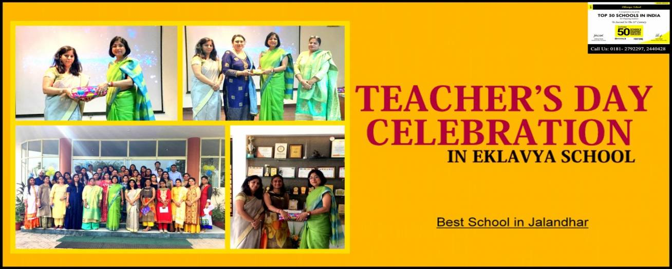 Teacher's Day Celebration in Eklavya School