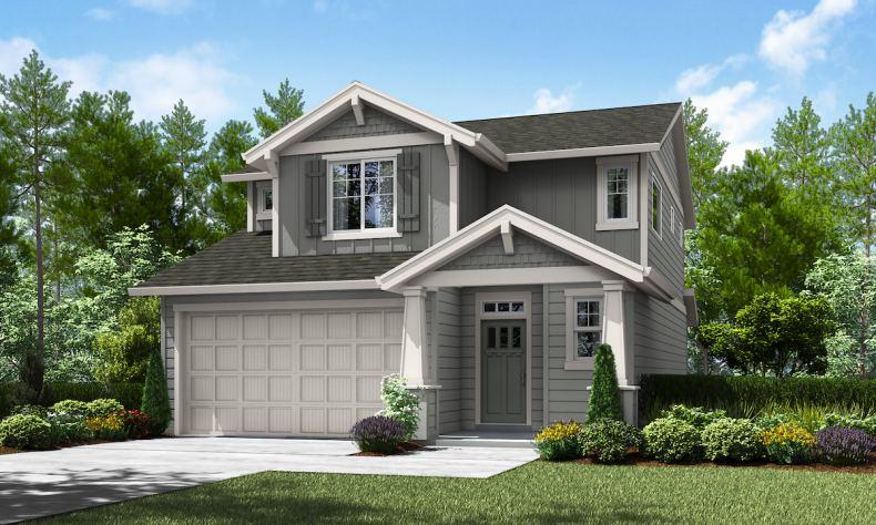 Riverwood Village offers new single-family homes in Wood Village near Portland