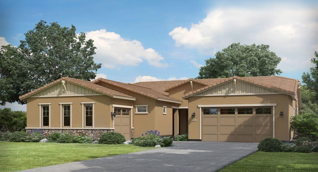 New single-level single-family homes for sale in Queen Creek near Phoenix