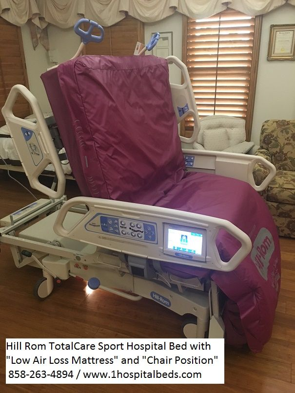 Hill Rom P1900 TotalCare Sport 2 Hospital Bed
