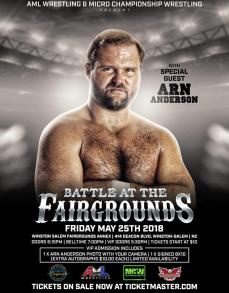 Arn Anderson AML Wrestling