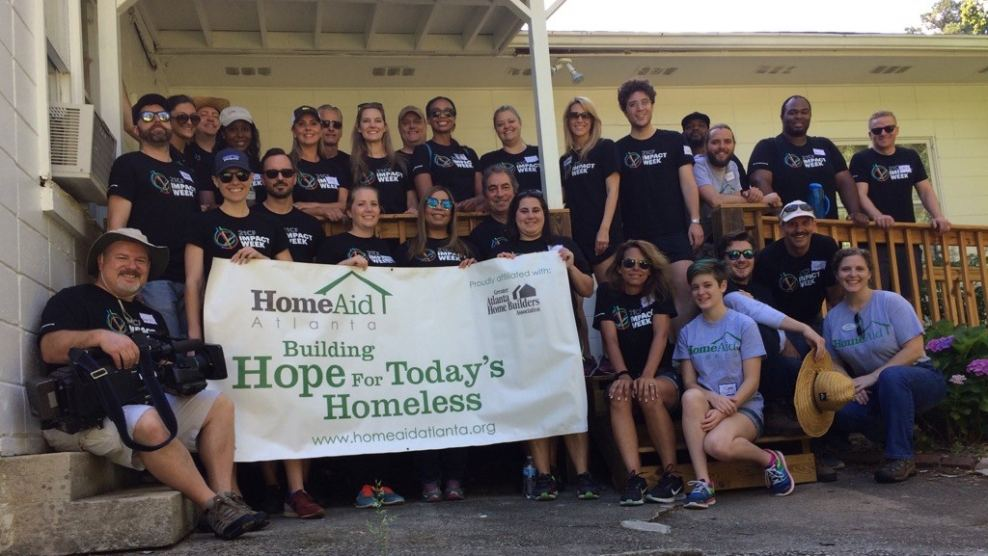 FOX Sports South and FOX International employees at June 6 HomeAid Care Day