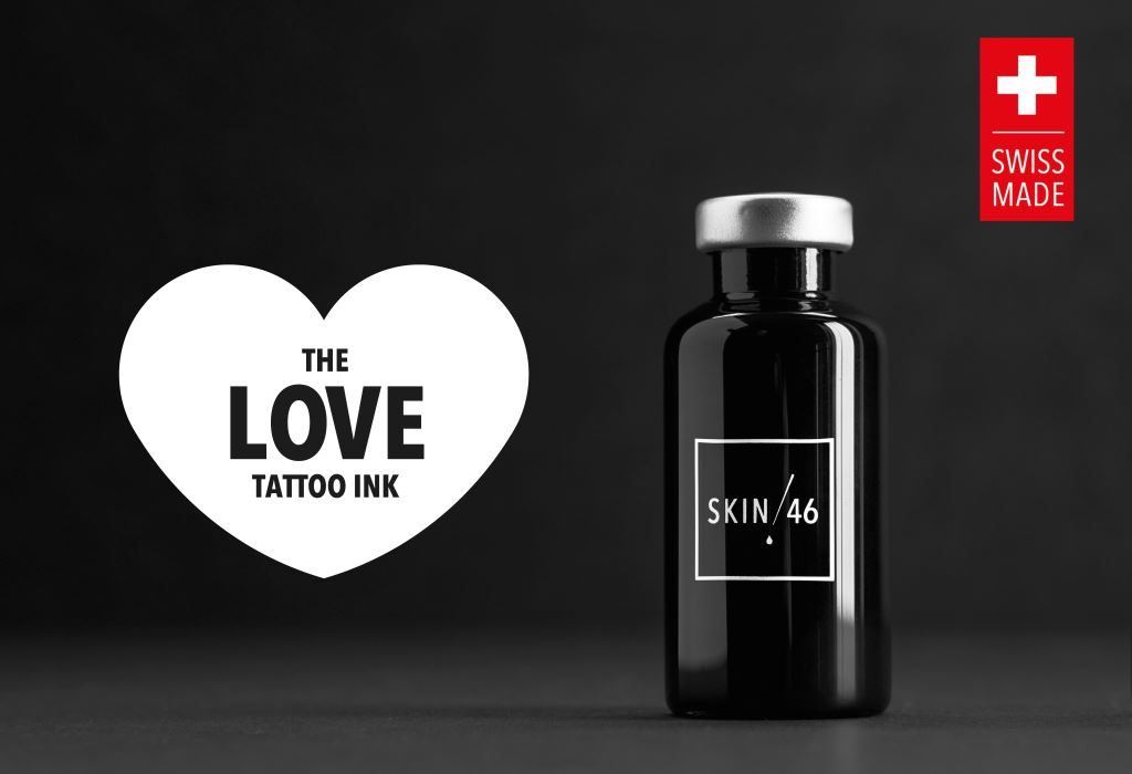 SKIN46 THE LOVE TATTOO INK