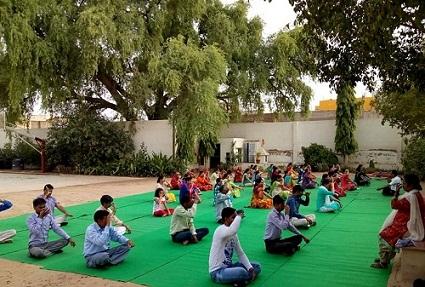 JMA Pilani Rajasthan Celebrates International Yoga Day & World Music Day