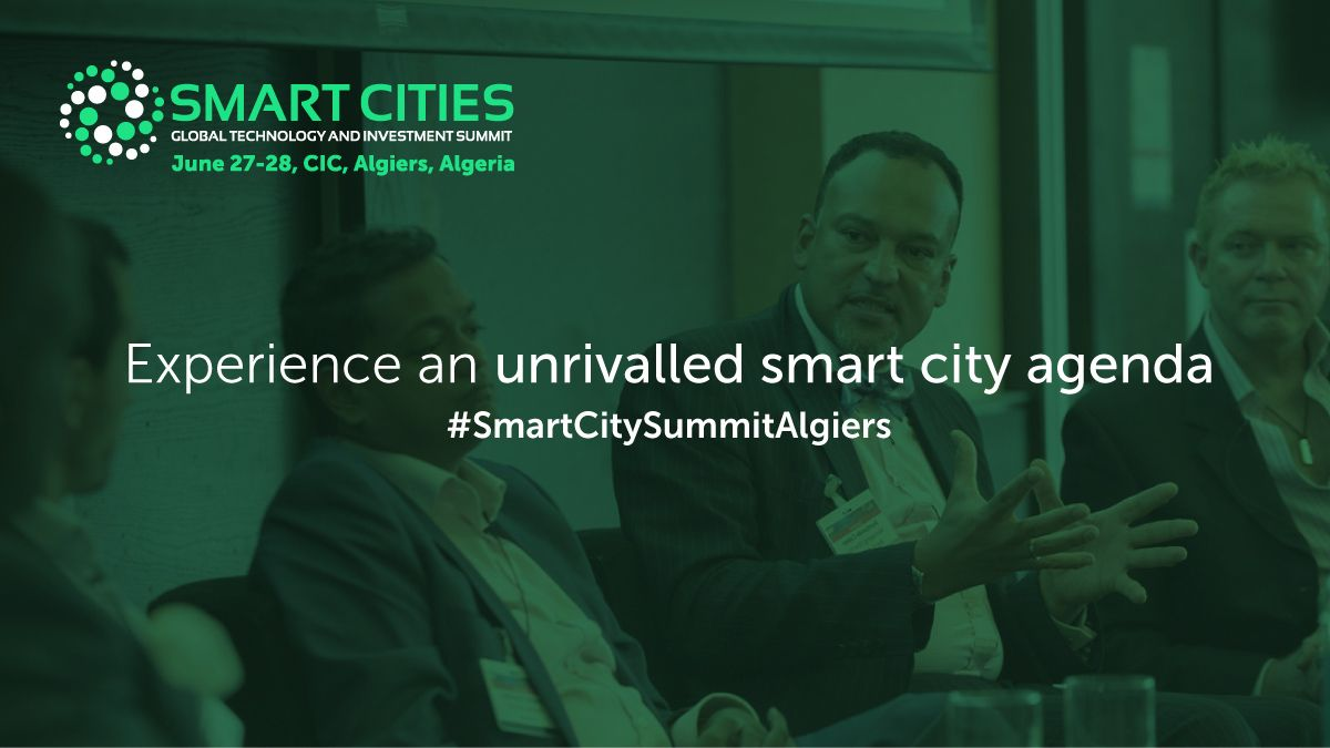 The Smart Cities Global Investment & Technology Summit 2018