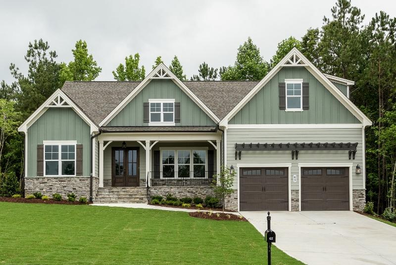 The Chatham by ICG Homes can be built at Perry Farms.