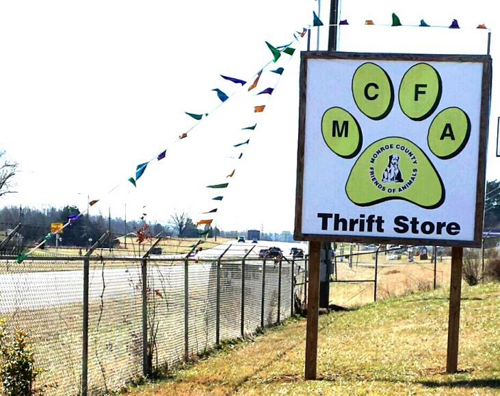 Monroe County Friends of Animals Thrift Store to have new home