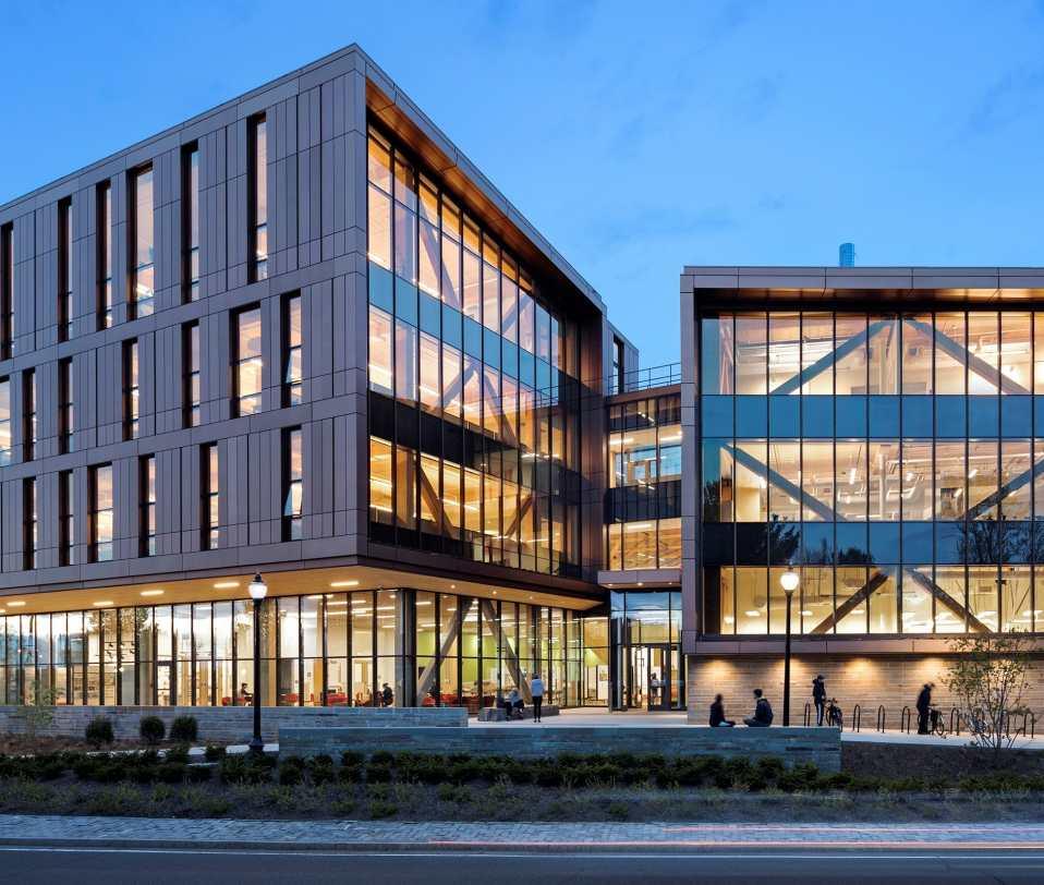 John W. Olver Design Building at University Mass