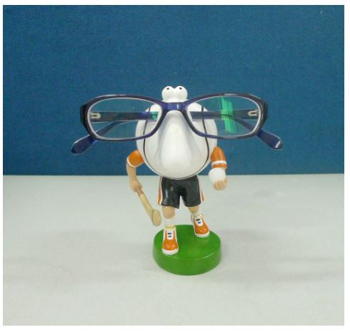 Irish Hurler Eyeglass Holder