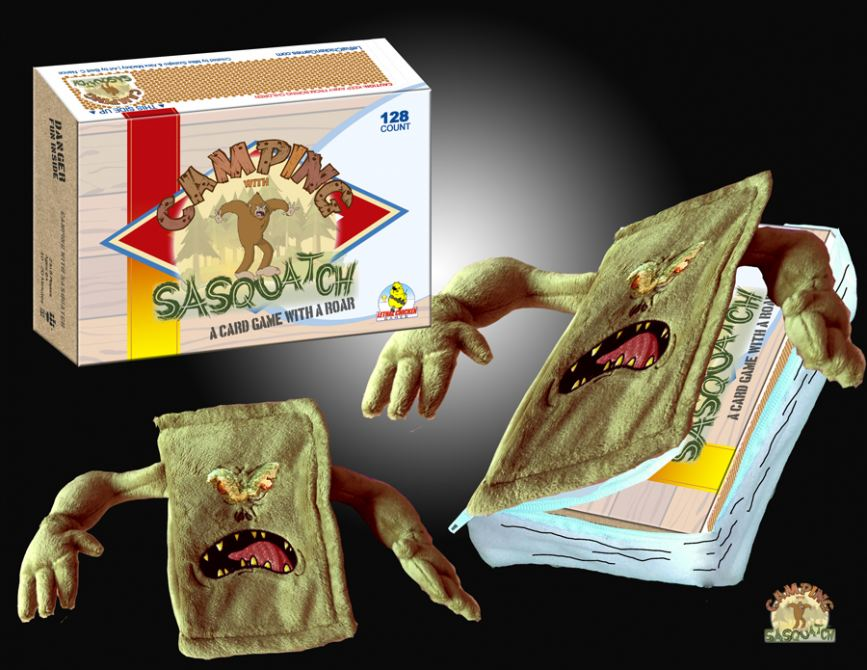 Camping with Sasquatch with Kickstarter Exclusive Ghost Stories Plush Book