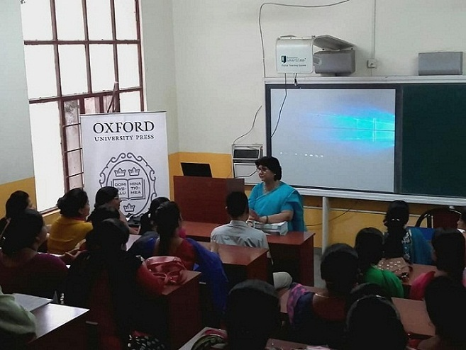 Oxford University Press India conducts Teaching Strategy Workshop at JMA Pilani