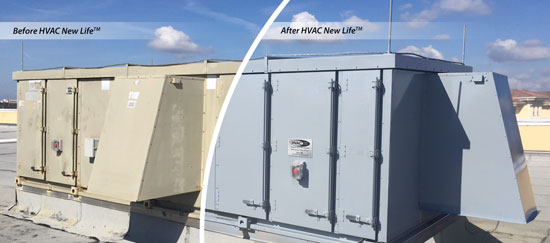 HVAC New Life Restores Old Equipment for 1/10 the Cost of New