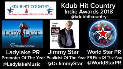 Kdub Hit Country Indie Awards 2018 Nominees