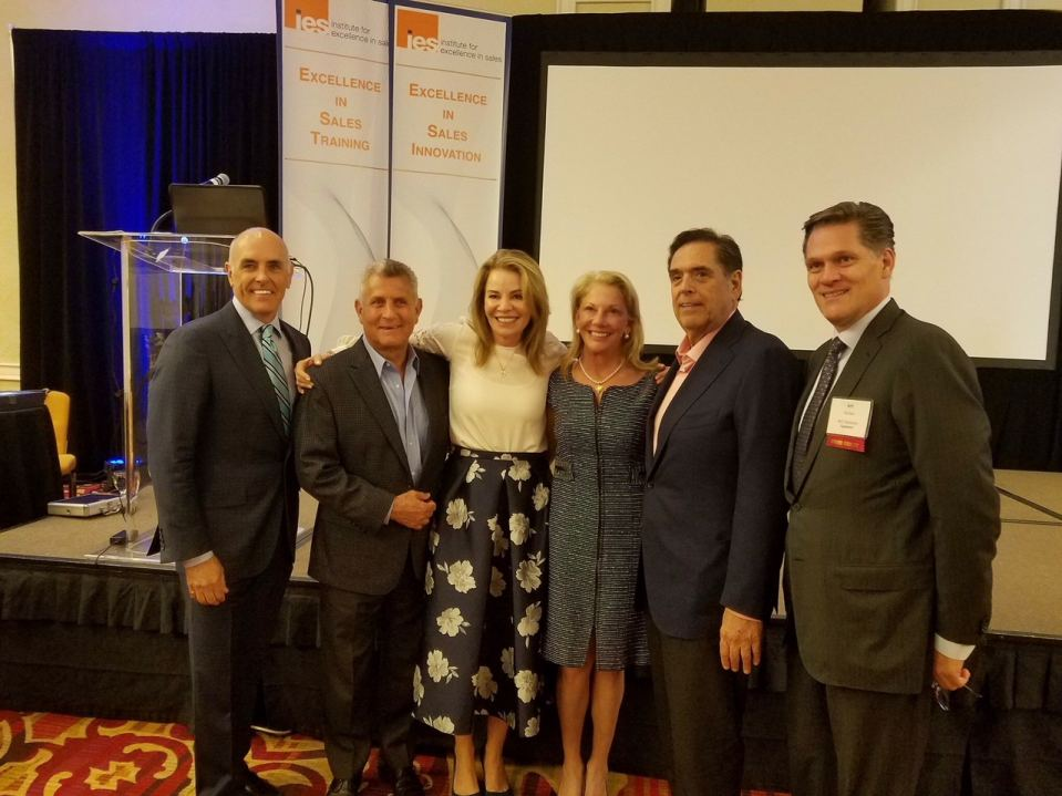 The IES Excellence in Sales 2018 Awards Ceremony