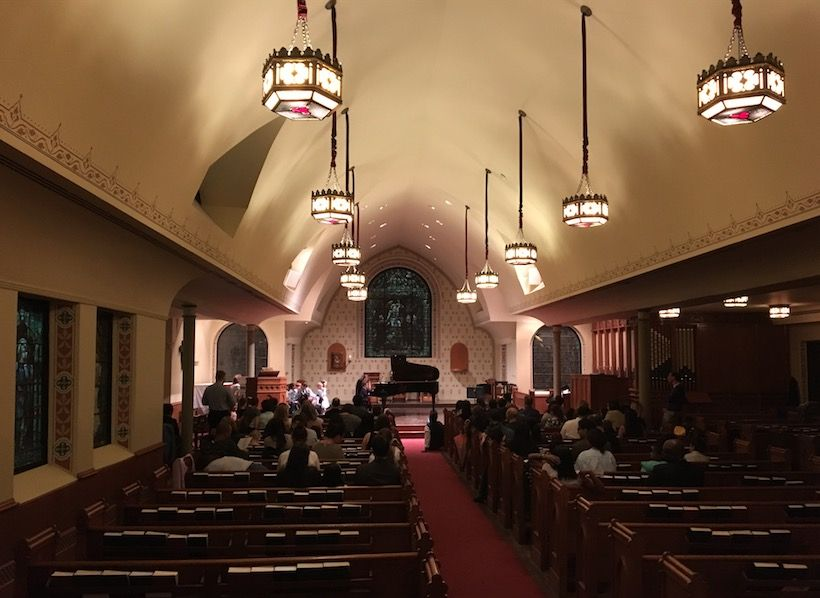 Piano School of NYC Recital at Christ and St. Stephens Church