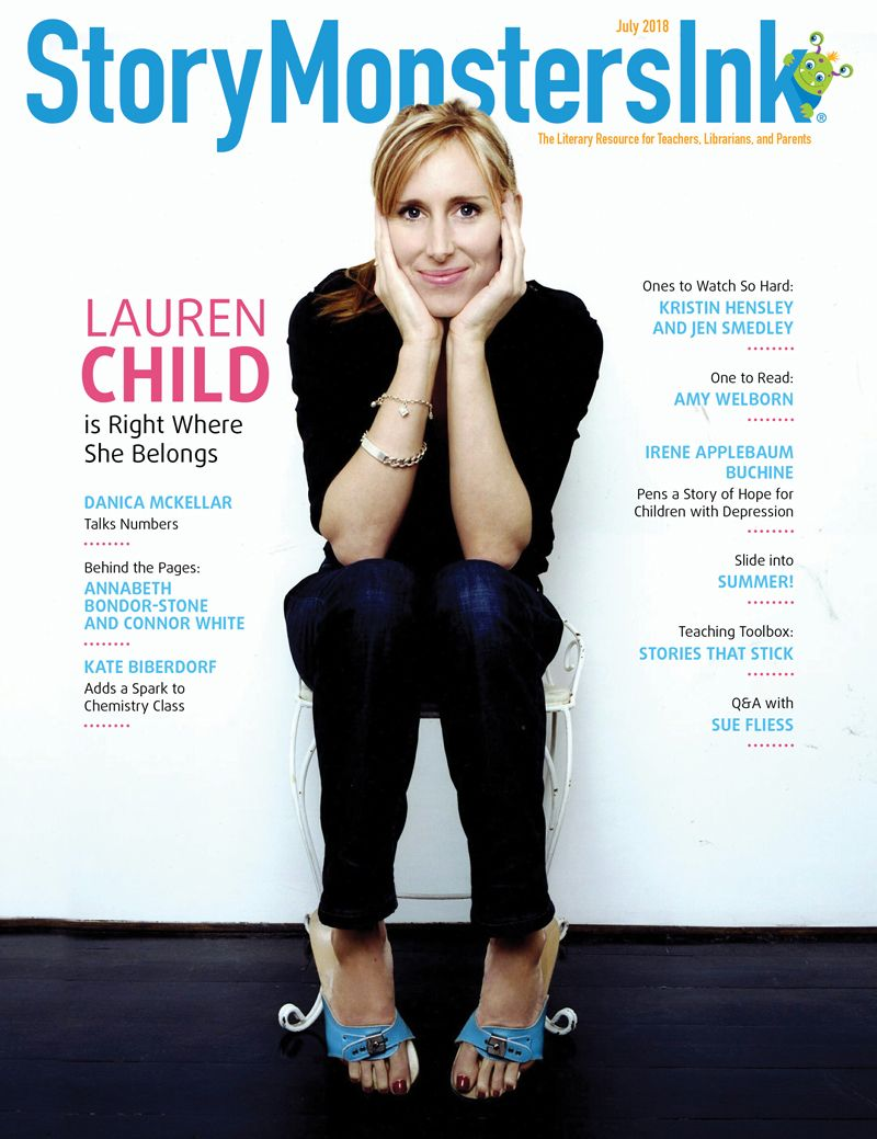 Lauren Child Story Monsters Ink July 2018 cover