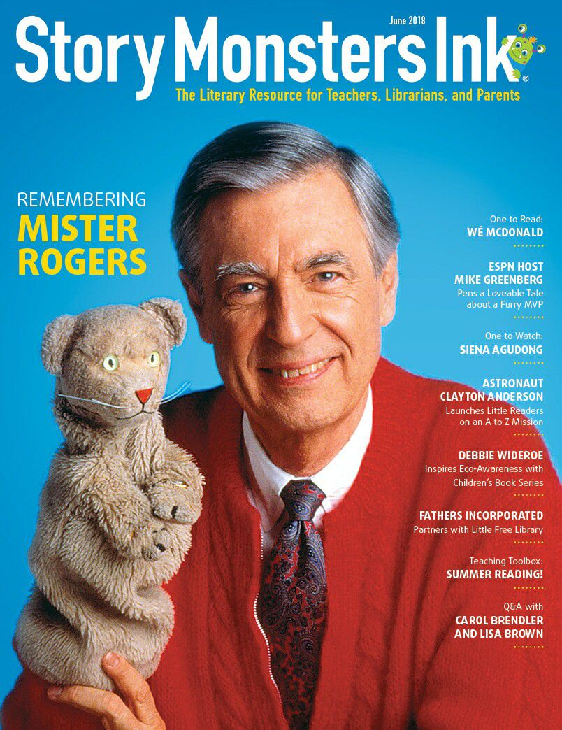 Story Monsters Ink June Cover 2018 ~ Mister Rogers