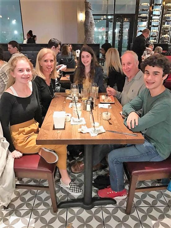 Sophie, Peggy, Emma, Jack and Jackie