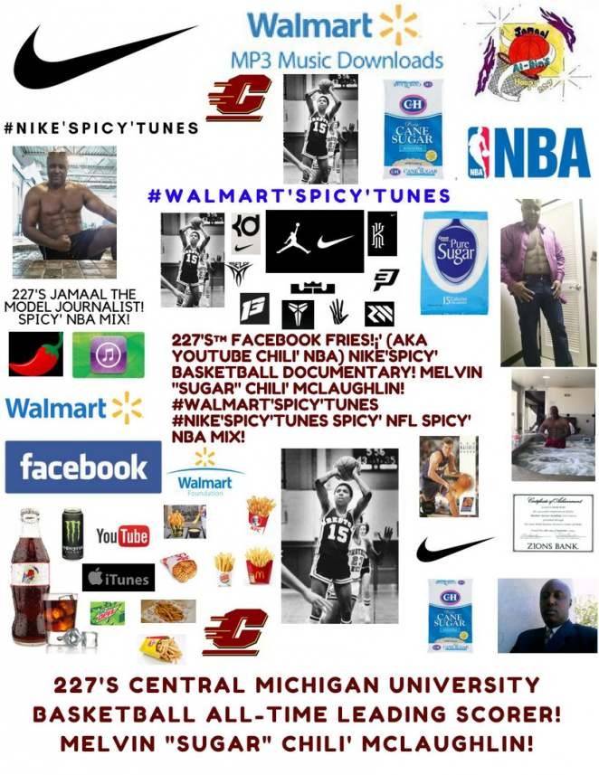 """227's™ Jamaal to appear in Hoops Documentary Movie! #Spicy' """"SUGAR"""" NBA Mix!"""