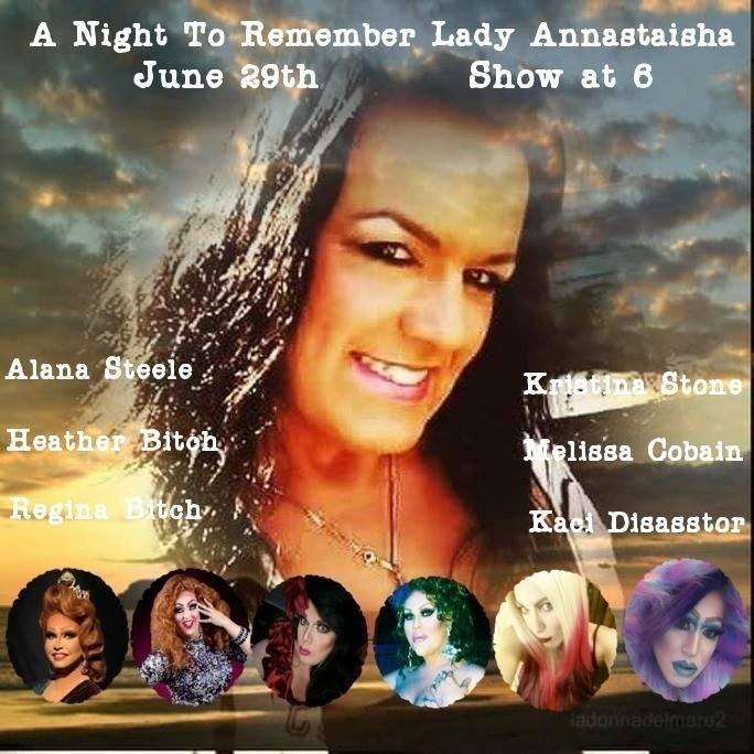 Performers Gather To Remember And Honor Lady Anastashia At Zonies Closet