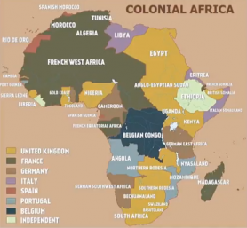 Taking over Africa